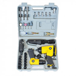 Coffret 4 outils (Choc-rochet-meule-burin) - PRODIF