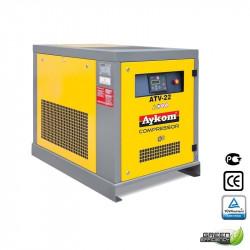 Compresseur à vis 30 CV vitesse fixe - 228 m³/h à 7.5 bars