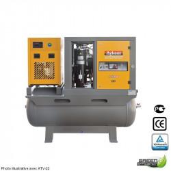 Compresseur 7.5CV sur cuve 530L avec sécheur - Vitesse fixe