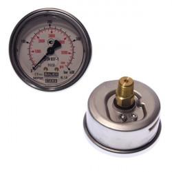 Manomètre 0-400 PA diam. 63 avec glycérine