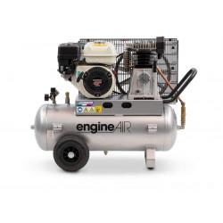 Compresseur thermique 4.8CV 50L 10 bars - 24.66 m³/h