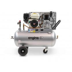 Compresseur thermique 4.8CV 100L 10 bars - 24.66 m³/h