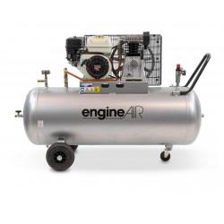 Compresseur thermique 4.8CV 200L 10 bars - 24.66 m³/h
