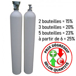 Bouteille tampon 50L 300 bars nue - Raccords disponibles