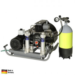 Compresseur haute pression LW160 E - 400V 9.6 m³/h