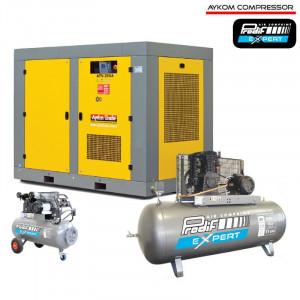 Compresseurs à vis et à pistons pour l'industrie - Air comprimé