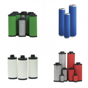 Éléments filtrants adaptables toutes marques - Air comprimé